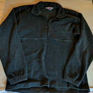 Mens Columbia 1/4 zip fleece